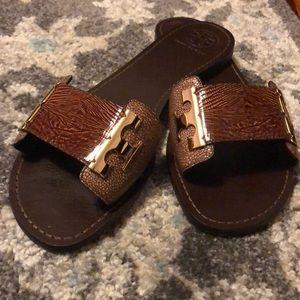 Very nice brown open toe sandals